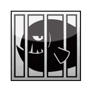 Caged Fish logo
